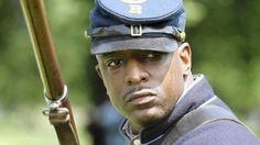 African-American re-en-actors bring history to life