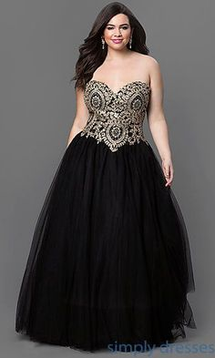 Black, gold and fantastic, this dress will highlight your waist and your curves. Negro y dorado, y simplemente fantástico, este vestido marca tu cintura y resalta tus curvas.