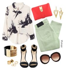 """""""~Somebody wake up my heart~"""" by maloops ❤ liked on Polyvore featuring Lelativement, Rihanna For River Island, Religion Clothing, Valentino, Opening Ceremony, Pieces, Michael Kors, women's clothing, women and female"""