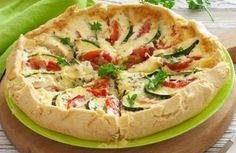 Tarte légère à la courgette et à la tomate WW, recette d'une savoureuse tarte légère facile et simple à réaliser, idéale à servir en entrée ou en plat principal accompagnée d'une salade.