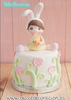 Precious Moments Easter Cake Ballerina Bunny #holiday