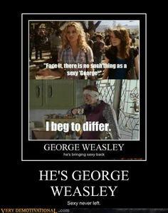 George Weasley...yep