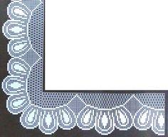 crochet em revista: Pontas