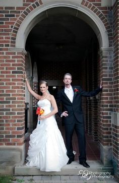 Bride and Groom Vogue