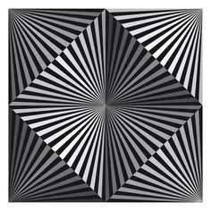 Op art was art that created an optical illusion. It was often black and white and made with many straight lines going in different directions. Geometric Designs, Geometric Art, Illusion Kunst, 3d Illusion Art, Optical Illusion Quilts, Arte Linear, Art Cube, Zentangle Patterns, Doodle Patterns