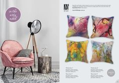 A beautiful collection of products created by talented Australian makers and artists. All the creations are handmade and unique in their style and are of a very high standard. Surface Pattern Design, Cushion Covers, Textile Design, Christmas Gifts, Cushions, Textiles, Throw Pillows, Creative, Handmade