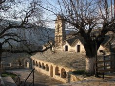 Church of Agios Nikolaos at Dolo village, built in Pogoni Municipality, Ioannina Prefecture, Epirus region, Greece Greece, Landscapes, Building, Greece Country, Paisajes, Scenery, Buildings, Architectural Engineering
