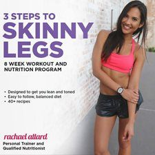 The 3 Steps To Skinny Legs program will help you to get beautiful, lean, and toned legs in just 8 weeks! Get DISCOUNT 20% OFF Today!