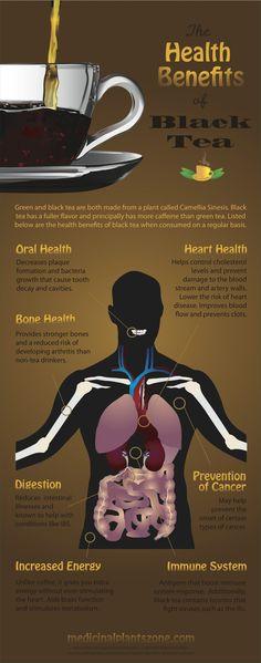 The Benefits of Black Tea!