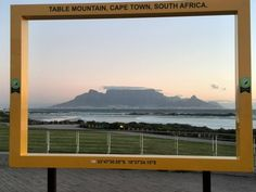 "LOVE these frames, all over #CapeTown at our ""Kodak moment' sights. Great pic of Table Mountain from Eden on the Bay. Embedded image permalink"