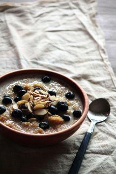 Blueberry Breakfast Quinoa by pastryaffair, via Flickr