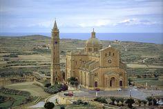 Ta Pinu Basilica Exterior