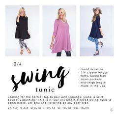 a38c986badc PRODUCTS - Agnes & Dora by Bobbie Jo Pixie Pants, Swing Dress, Swing Top