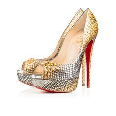 Women Shoes - Lady Peep - Christian Louboutin