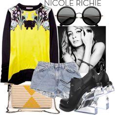 """Nicole Richie Style"" by glittertank on Polyvore"