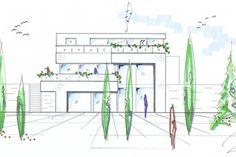Immobilier-vente-villa-valais-grimisuatfa_ade_sud_attique_cropped Villa, Floor Plans, Real Estate, Houses, Projects, Fork, House Floor Plans, Villas