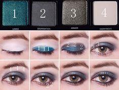 Pour femme : tuto maquillage yeux marrons soirée
