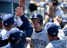 Wil Myers Photos - San Diego Padres v Los Angeles Dodgers - Zimbio