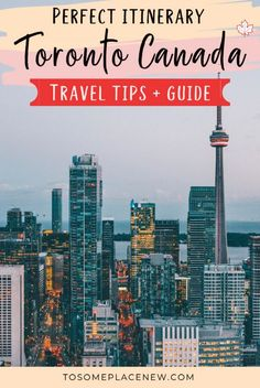 Toronto Itinerary 7 days - How to spend 2-7 days in Toronto - tosomeplacenew Toronto Itinerary things to do in 2 - 7 days | Toronto itinerary Niagara Falls | Toronto travel guide for first timers | Toronto Travel things to do in 7 days #toronto #canada #traveldestinations Vancouver, Toronto Canada, Visit Toronto, Quebec, Travel Guides, Travel Tips, Travel Packing, Asia Travel, Montreal