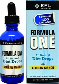 FORMULA ONE TM All Natural Diet Drops with African Mango. For use with the Formula One Diet Plan, Includes Allowable... $17.99