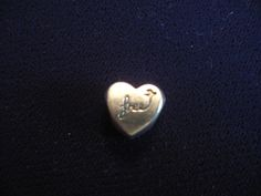 Authentic Pandora Heart Of Freedom Bead Charm Sterling Silver P2S 925 ALE
