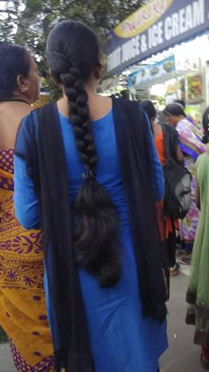 Bun Hairstyles For Long Hair, Indian Hairstyles, Braided Hairstyles, Beautiful Braids, Beautiful Long Hair, Indian Long Hair Braid, Braids For Long Hair, Braid Hair, Super Long Hair