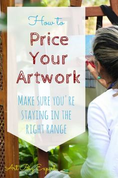Pricing your artwork can be tough. Especially if you are just starting out. Learn some basic ways to come to a reasonable price for your work and stay in the best range for where you are planning to sell. Everyone has to start somewhere and this gives you Selling Paintings, Your Paintings, Selling Art Online, Online Art, Artwork Online, Craft Business, Creative Business, Business Writing, Business Ideas