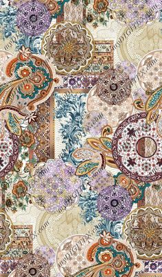 Abstract | Paisleys - fabric pattern design JD_03443 - MyDigitex Textile Pattern Design, Flower Pattern Design, Surface Pattern Design, Pattern Art, Paisley Art, Paisley Fabric, Textures Patterns, Fabric Patterns, Print Patterns
