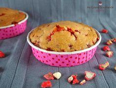 Muffins aux Pralines Roses {Frédéric Anton & Christelle Brua} | Ma Cuisine Gourmande Praline Rose, Muffins, Anton, Roses, Breakfast, Cupcake, Food, Stove, Pastry Recipe