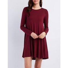 Open-Back Shift Dress