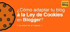 ley de cookies en blogger