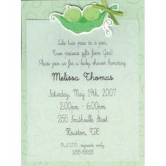 two peas in a pod baby shower - Google Search