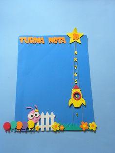 Painel Turma Nota 10 para educação infantil www.petilola.com.br