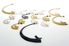 Contemporary Jewellery Designers, Silver Jewellery, Jewelry Design, Jewelry Making, Mirror, Handmade, Beautiful, Collection, Style