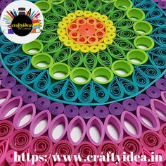 Quilling or paper filigree is one of the type of paper craft. In which, with the help of strips of paper that rolled, shape, and glued together to create different decorative designs. Pen Cake, Paper Strips, Types Of Craft, Quilling Art, How To Make Paper, Simple Art, Paper Cutting, Filigree, The Help