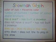 Chalk Talk: A Kindergarten Blog: winter