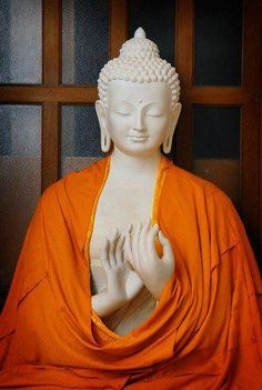 """Buddha - displaying the mudra ( hand position) representing teaching or """"turning the Wheel of the Dharma."""""""