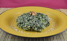 Scopri la ricetta di: Risotto agli spinaci