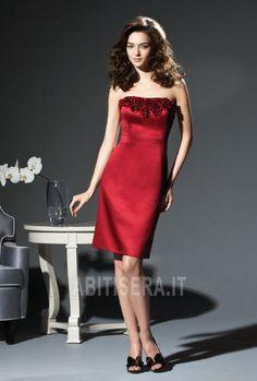 c42d5ce2ee41 Abito da cocktail moda Moderno Magro al ginocchio Senza Maniche Dessy  Bridesmaid Dresses