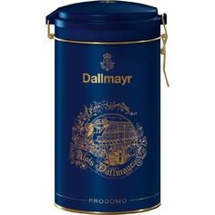 #Dallmayr #Prodomo #Coffee in #Blue #Gift #Tin 100% Ground #Coffee in a decorate #tin. (500g/17.6oz) The tin's top is resealable for freshness. #Dallmayr #Blue #Gift #Tin https://homeandgarden.boutiquecloset.com/product/dallmayr-prodomo-coffee-in-blue-gift-tin/