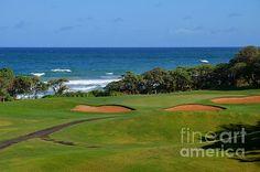 Wailua Golf Course - Hole 17 - 1 - by Mary Deal