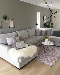 8 Ways to Style Scandinavian Interior Design at Home Cozy Living Rooms, Living Room Grey, Home Living Room, Apartment Living, Interior Design Living Room, Living Room Designs, Living Room Decor, Bedroom Decor, Kitchen Interior