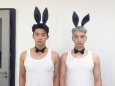 2PM's Taecyeon and Chansung transform into sexy wild bunnies on 'SNL Korea' + preview of 'Promise'