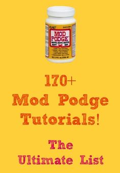 """Podge Crafts - Get the Ultimate Collection Need an awesome gift idea? Here are Mod Podge craft tutorials!"""" data-componentType=""""MODAL_PINNeed an awesome gift idea? Here are Mod Podge craft tutorials! Crafty Craft, Crafty Projects, Diy Projects To Try, Crafting, Art Projects, Cute Crafts, Creative Crafts, Crafts To Make, Diy Crafts"""