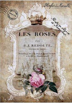 Les roses vintage