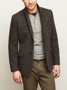 Jack Spade - The Dunway    That's a blazer that would go with everything.