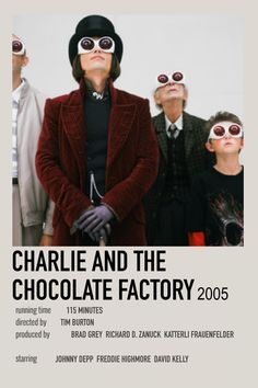 Charlie and The Chocolate factory by Cass