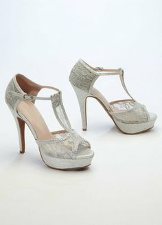 Wedding & Bridesmaid Shoes Glitter and Lace High Heel Sandal Silver David's Bridal,http://www.amazon.com/dp/B00ENG76CC/ref=cm_sw_r_pi_dp_jiFstb1953YJTPSC