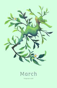 March - Fragrant Leaffrom my Tea Spirits 2015 Calendar