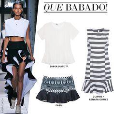 Compre moda com conteúdo, www.oqvestir.com.br #Fashion #Summer #Supersuite77 #Farm #GuipireRenataGomes #Balenciaga #Shop